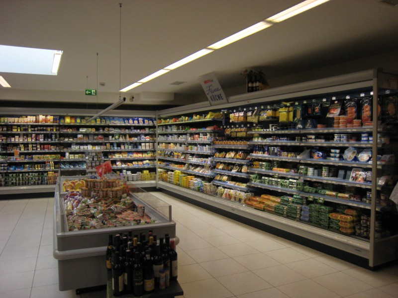 Supermarket in Wien