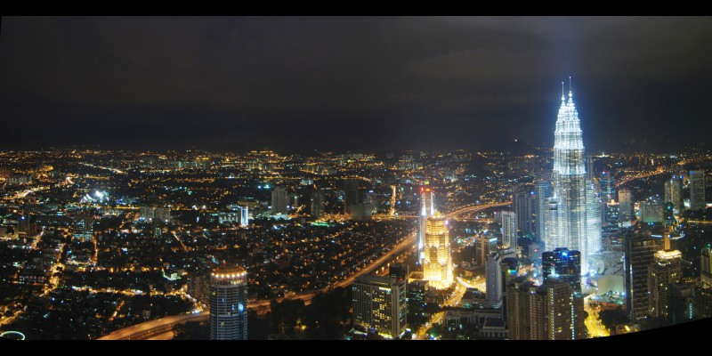 View from KL Tower