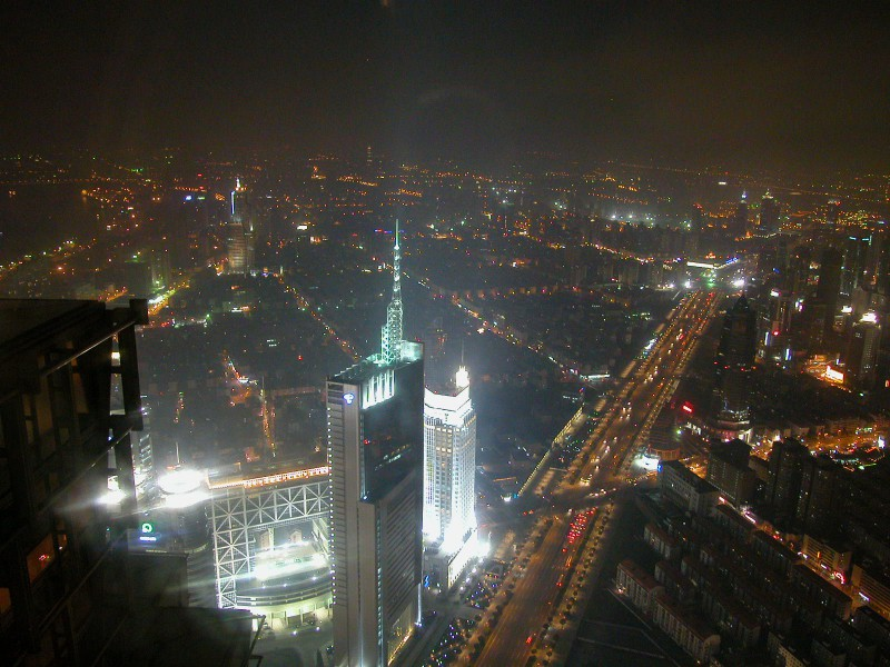 View from the Jin Mao Observatory in Shanghai