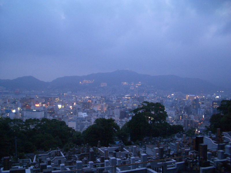 View of Nagasaki from Heifuri Hill