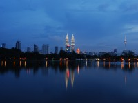 View-of-Pentronas-Twin-Towers-from-Titiwangsa-Park
