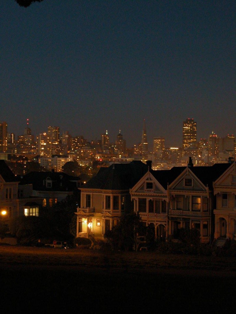 View of San Fransisco from Sausailto