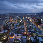 View-of-Sapporo-from-the-JR-Tower