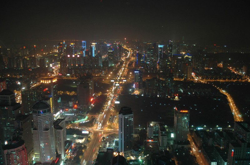 View of Shenzhen from Saige Paza