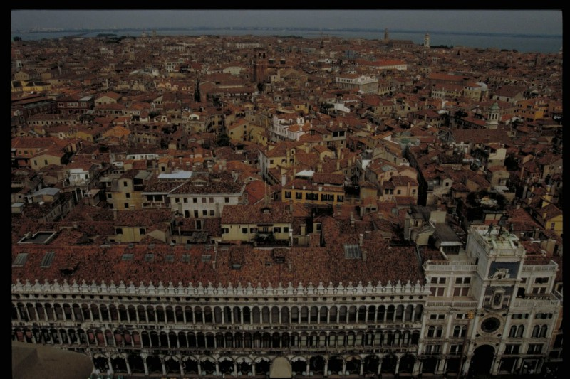 View of Venice from above