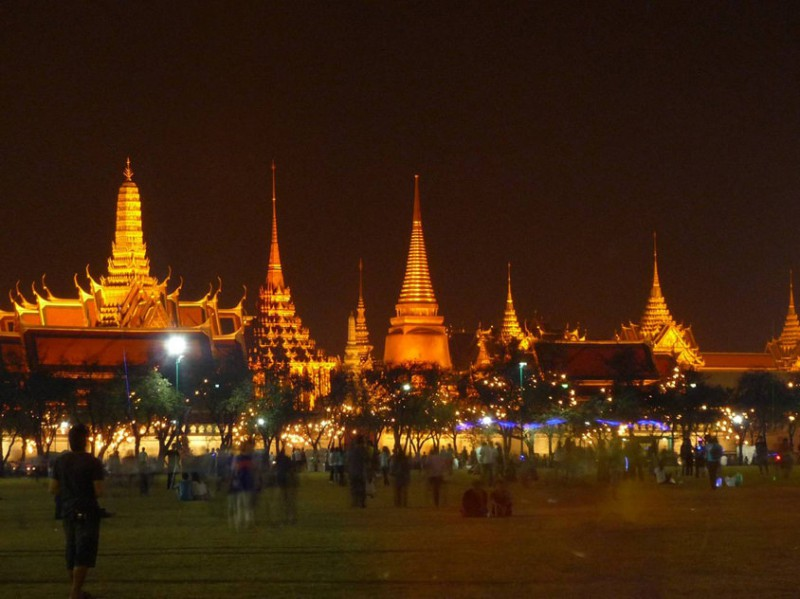 Wat Phra Kaeo and Grand Palace