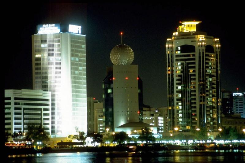 Dubai Façade Lighting
