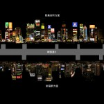 Façade-along-Yasukuni-Street-through-Shinjuku-Tokyo