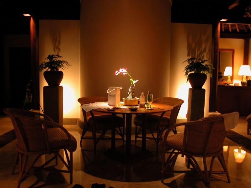 Inside Amandari Resort