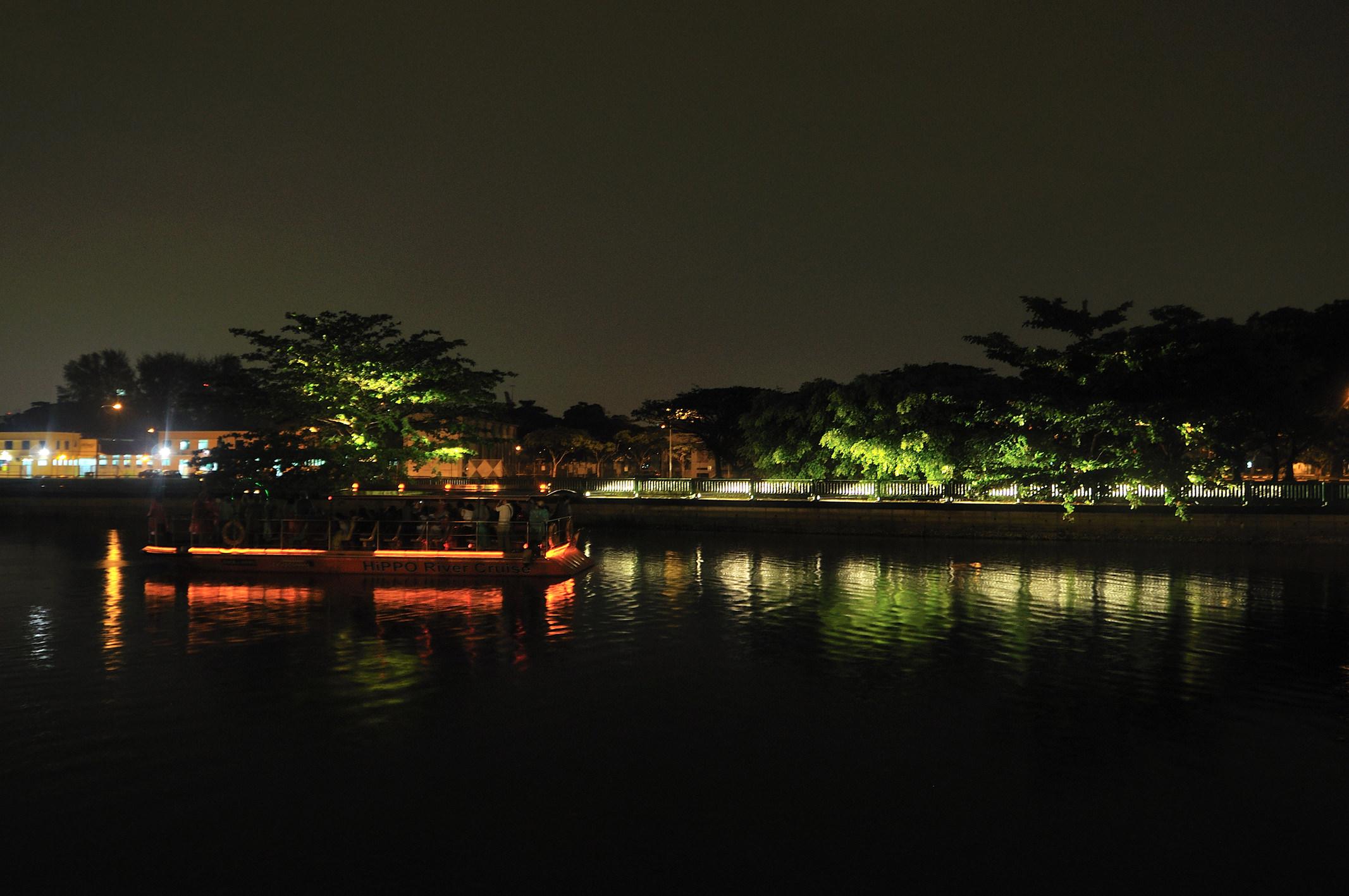 水辺に見るシンガポールの光景観