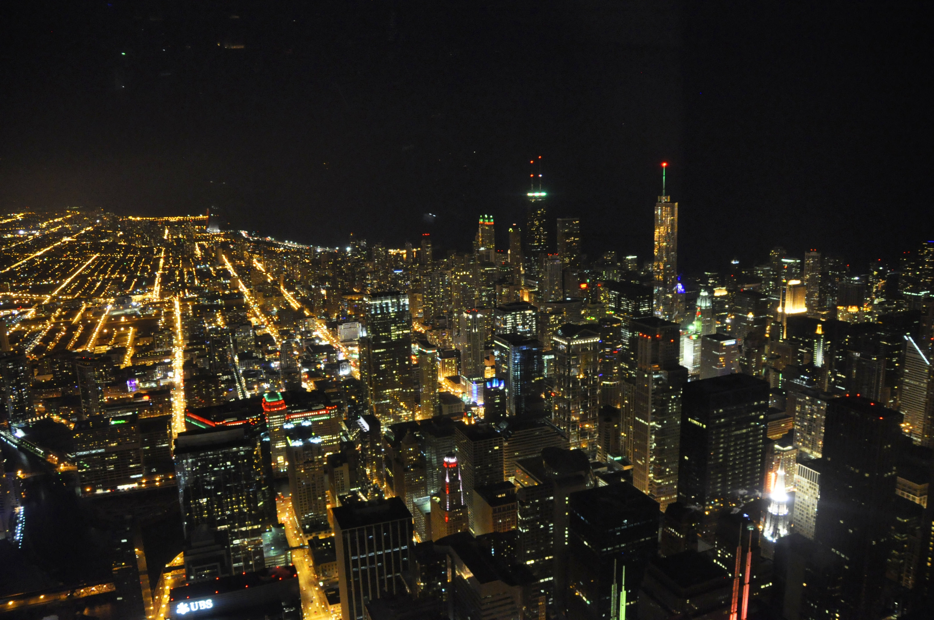 Willis Tower 東かかの俯瞰撮影 2013