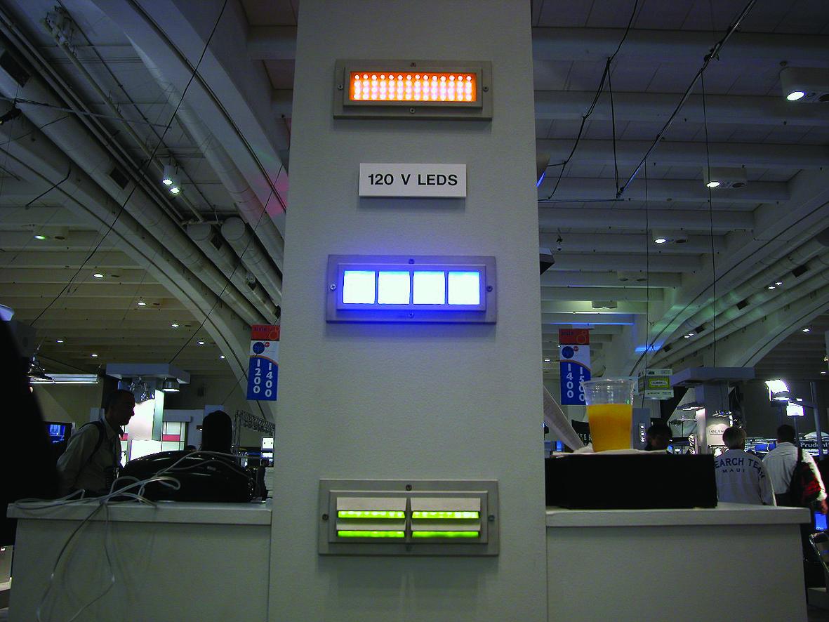 17.壁埋込LED インジケーション