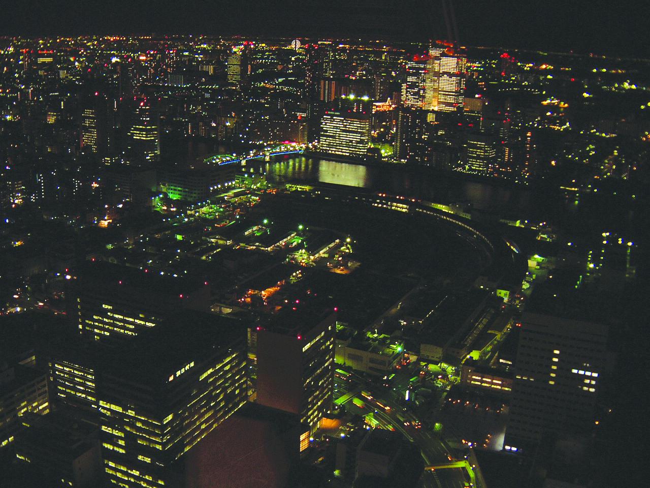 4.都電通ビルから眺められる東京夜景