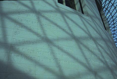 2.壁面におちたトラスの影