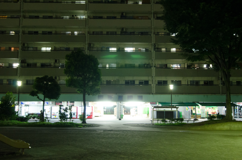Takashimadaira - a glocery store at night(高島平 - 夜のスーパーマーケット)