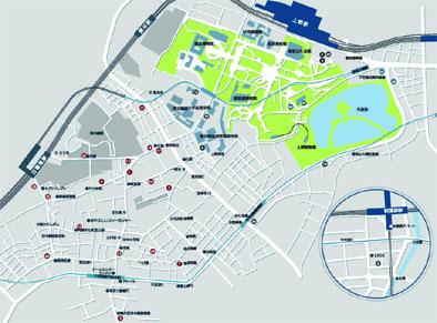 12.art-Link 上野- 谷中のサイトマップ