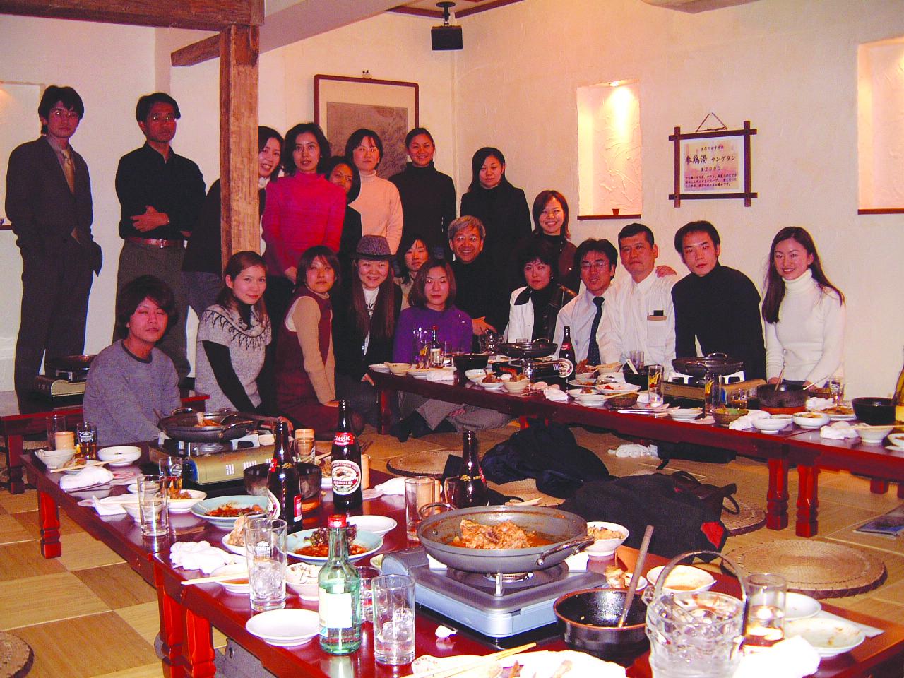 6.懇親会は韓国料理でカラダの芯から温まりました
