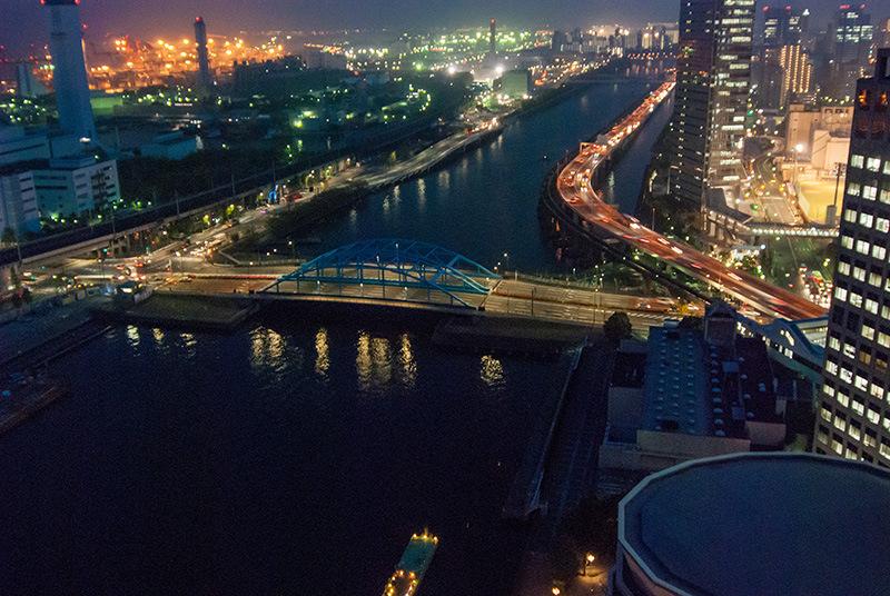 23.天王洲にある第一ホテルから羽田空港側を俯瞰