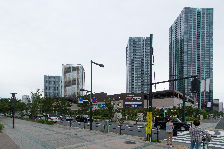 Toyosu - citycape(豊洲 - 都市の様子)