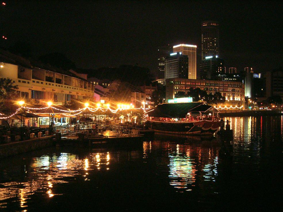 1.ボート・キー シンガポール