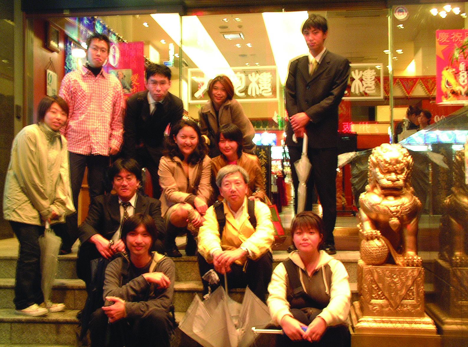 9.中華街にて集合写真