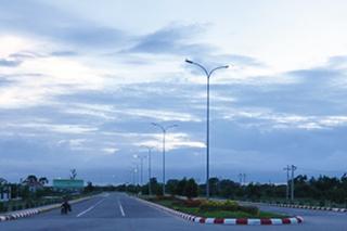 ネピドー道路照明