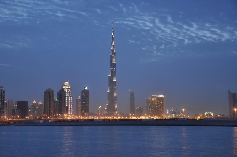 Burj Khalifa Tower shoot from Oud Metha Rd