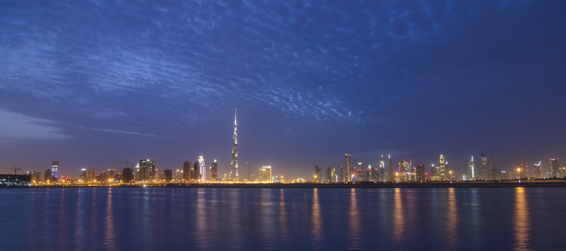 Burj Khalifa Tower shoot from Oud Metha Rd