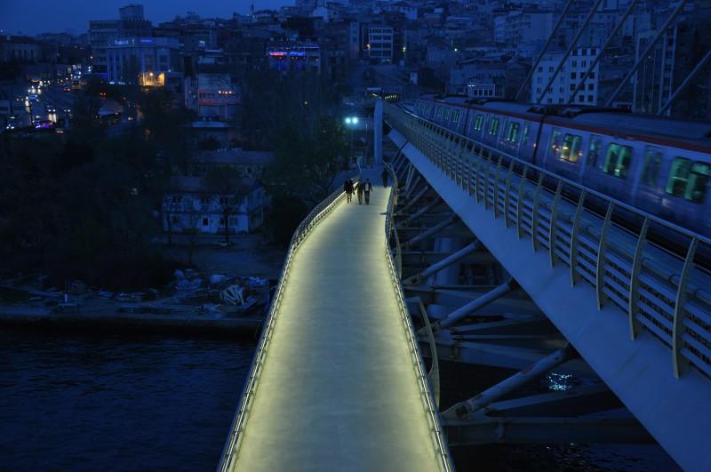 Golden Horn Metro Bridge