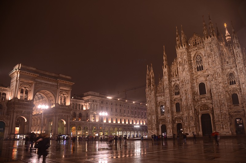 Duomo and Galleria Italy Milano
