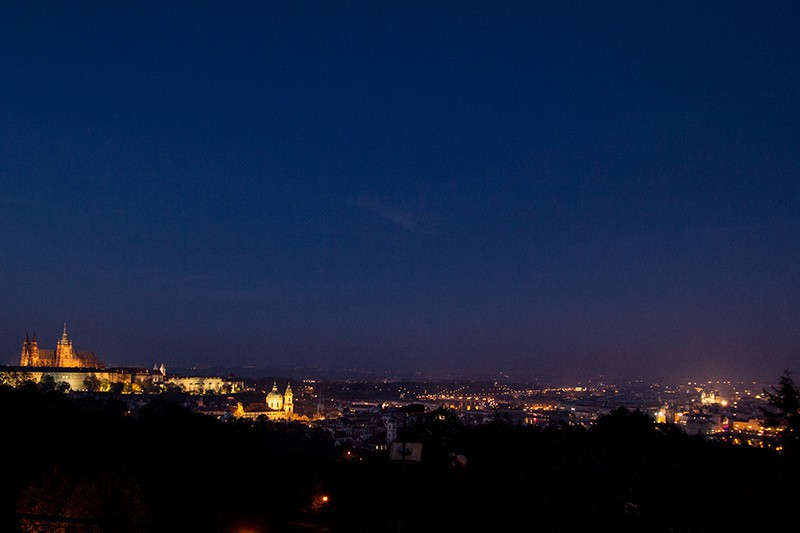 From Petrin Czech Republic Prague