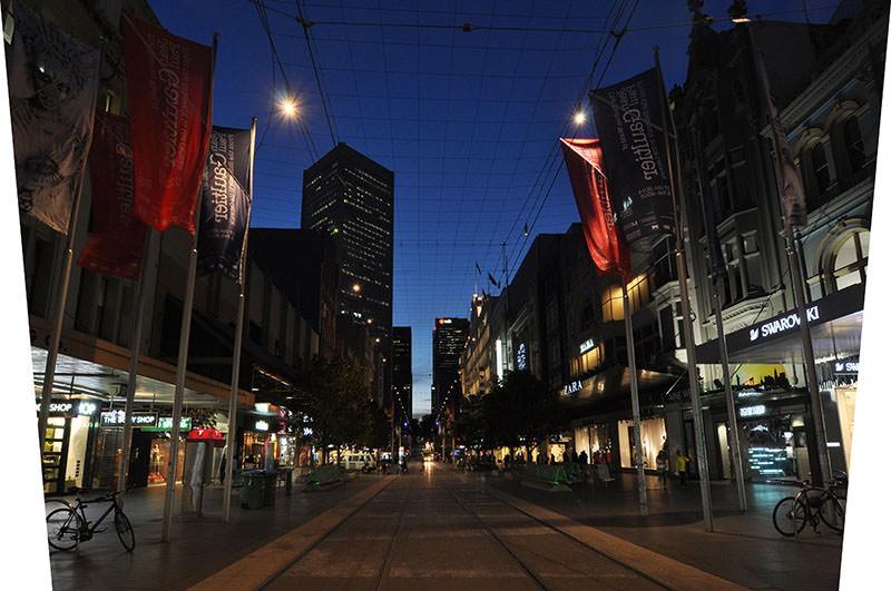 Street view of Bourke Avenue in Melbourne