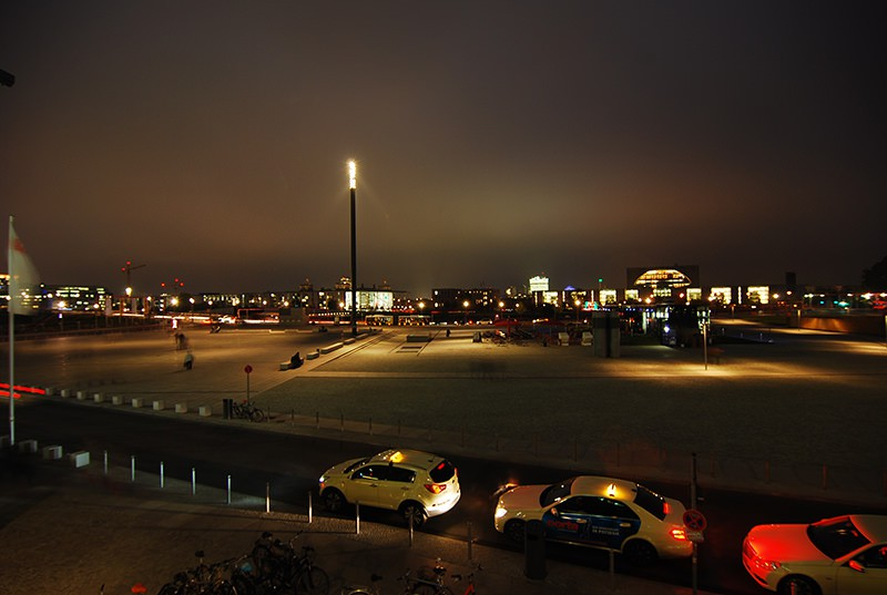 Night view in Berlin
