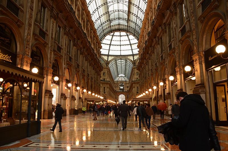 Galleria of Milano Italy Milano