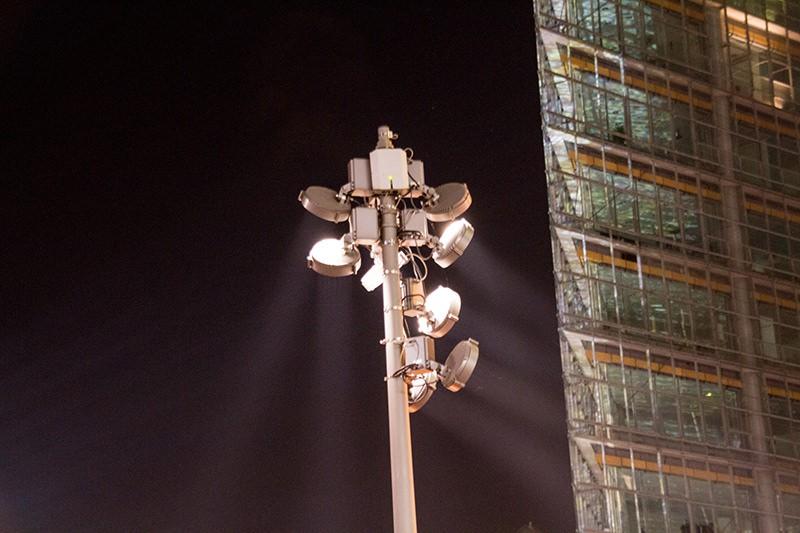 Night view in Berlin