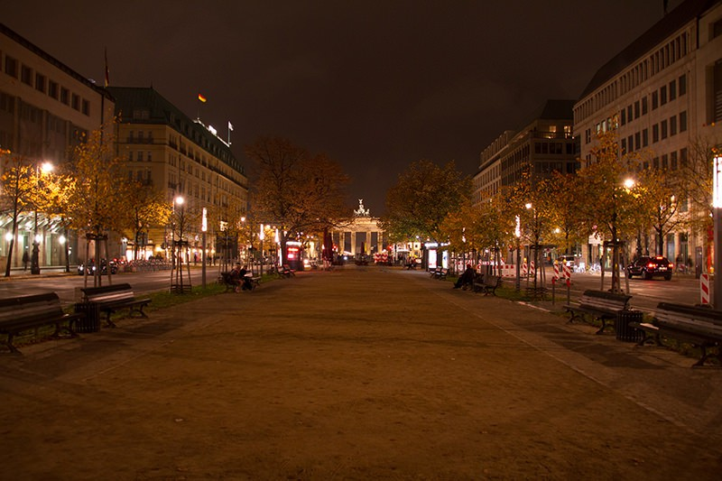 Street view in Berlin