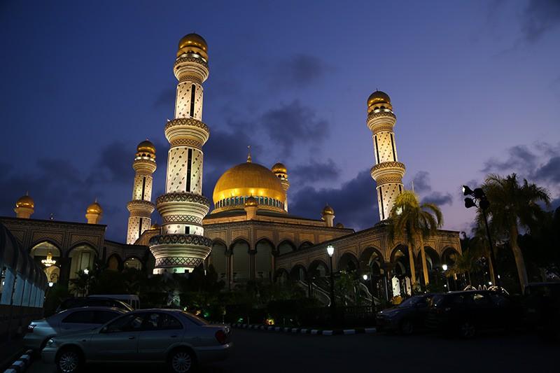 Jame'Asr Hassanil Bolkiah Mosque  Brunei