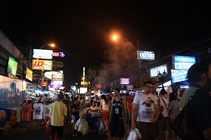 Khaosan Road Thailand Bankok