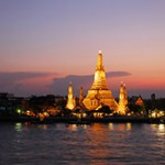 Panoramic view of Wat Arun