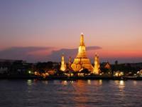 Panoramic view of Wat Arun