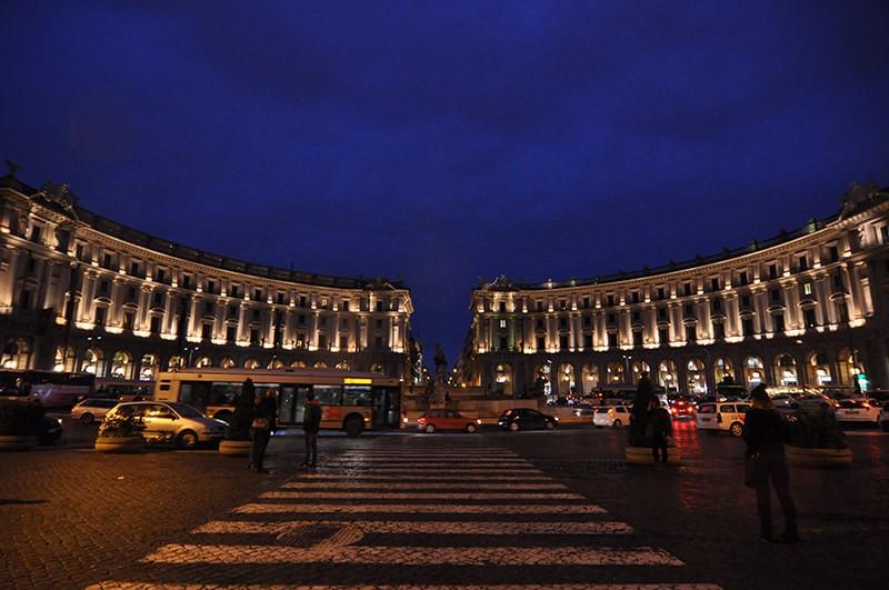 Piazza Repubblica Italy Roma