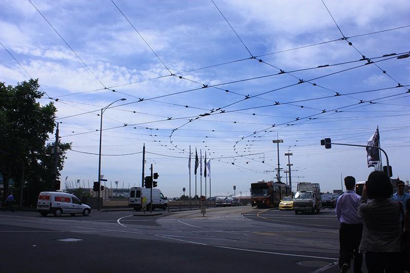 Splitted sky of Melbourne