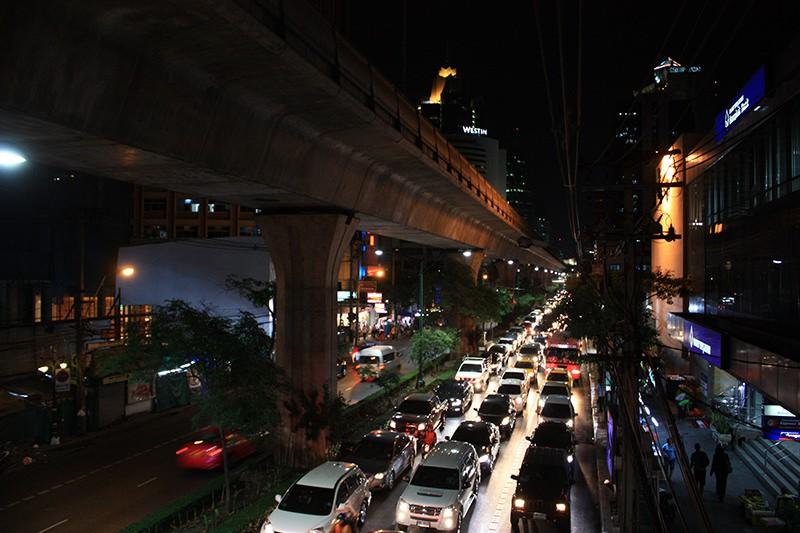 Sukhumvit Road  Thailand Bankok