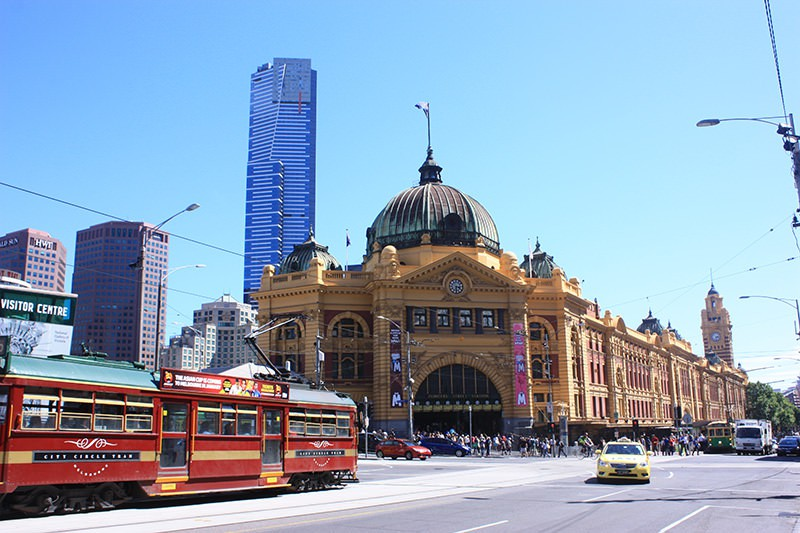 Symbolic view of Melbourne