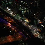 View from Eureka Skydeck_Streetlights are planned with different color temparature_mini