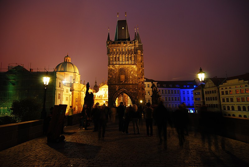 Charles Bridge Czech Republic Prague
