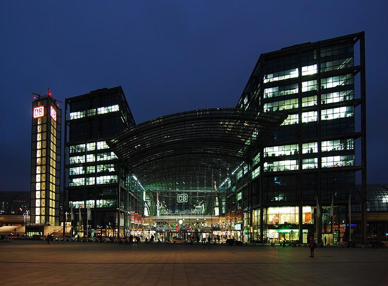 Berlin Hauptbahnhof, ベルリン中央駅