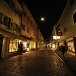 Freiburg City_Alstadt Area Alley-01_Catenary Light & Shopfront Lighting_mini