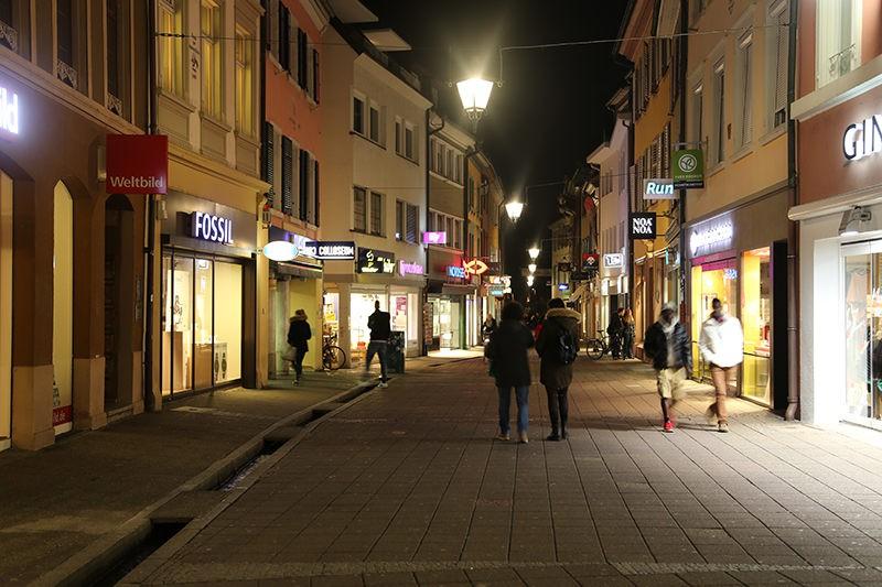 Freiburg City Alstadt Area Alley
