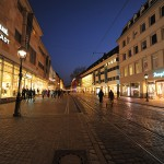 Freiburg City_Kaiser-Joseph Str_Blue Moment_mini